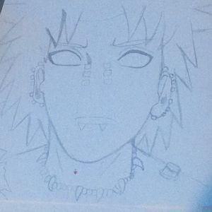 naruto drawing (pain)